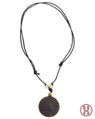 Halskette Folla mit Spirale (4,5 cm)