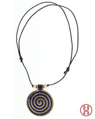 Halskette Phol mit Spirale (3,5 cm)