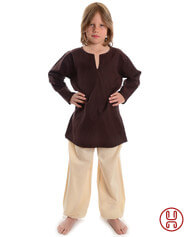 Mittelalter Kinder Tunika Hemd Baumwolle