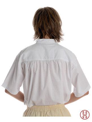 Schnürhemd Kurzarm - Rückansicht
