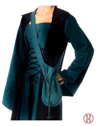 Mittelalter Tasche Umhängebeutel klein grün