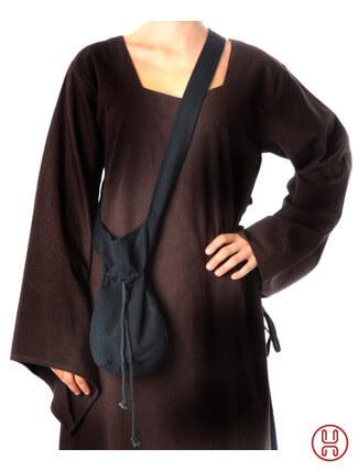 Mittelalter Tasche Umhängebeutel klein schwarz