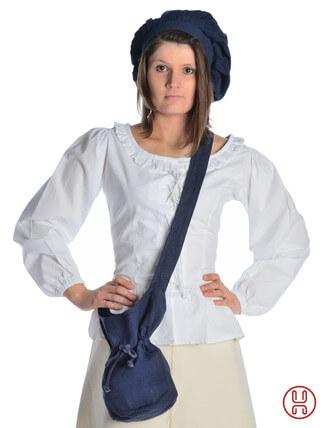 Mittelalter Tasche Umhängebeutel klein blau