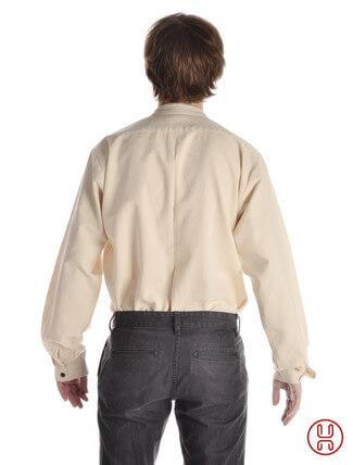 Trachtenhemd Stehkragen-Hemd Mittelalterliches Hemd