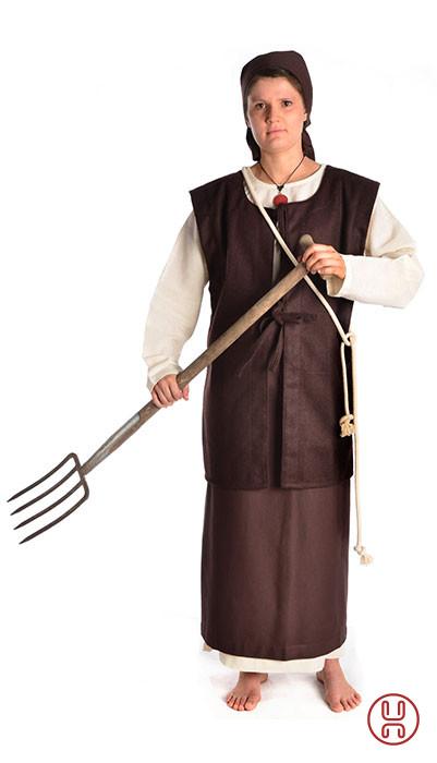 Mittelalterkleidung Bäuerin