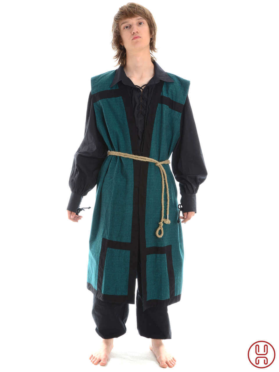 wikinger mantel lurteun aus baumwolle hemad gewandungen. Black Bedroom Furniture Sets. Home Design Ideas