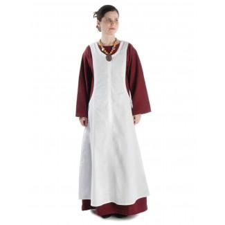 Mittelalter Kleid Sigune in Rot Frontansicht 3