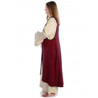Mittelalter Surkot Liaze in Rot Seitenansicht
