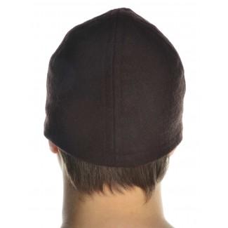 Wikinger Kappe Fafnir in Braun Rückansicht