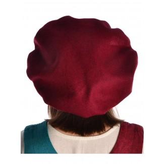 Mittelalter Barett Ade in Rot Rückansicht