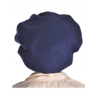 Mittelalter Barett Sintram in Blau Rückansicht