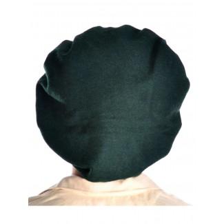 Mittelalter Barett Sintram in Grün Rückansicht