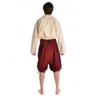 Piraten Hose Urgan in Rot Rückansicht