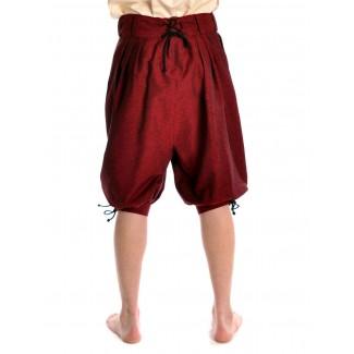 Piraten Hose Urgan in Rot Rückansicht 2
