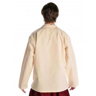 Korsaren Hemd Kaylet in Beige Rückansicht