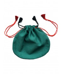 Mittelalter Tasche Umhängebeutel klein braun, grün, beige, schwarz, rot und braun