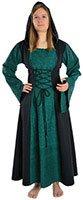 Menu Mittelalter Damen Kleidung